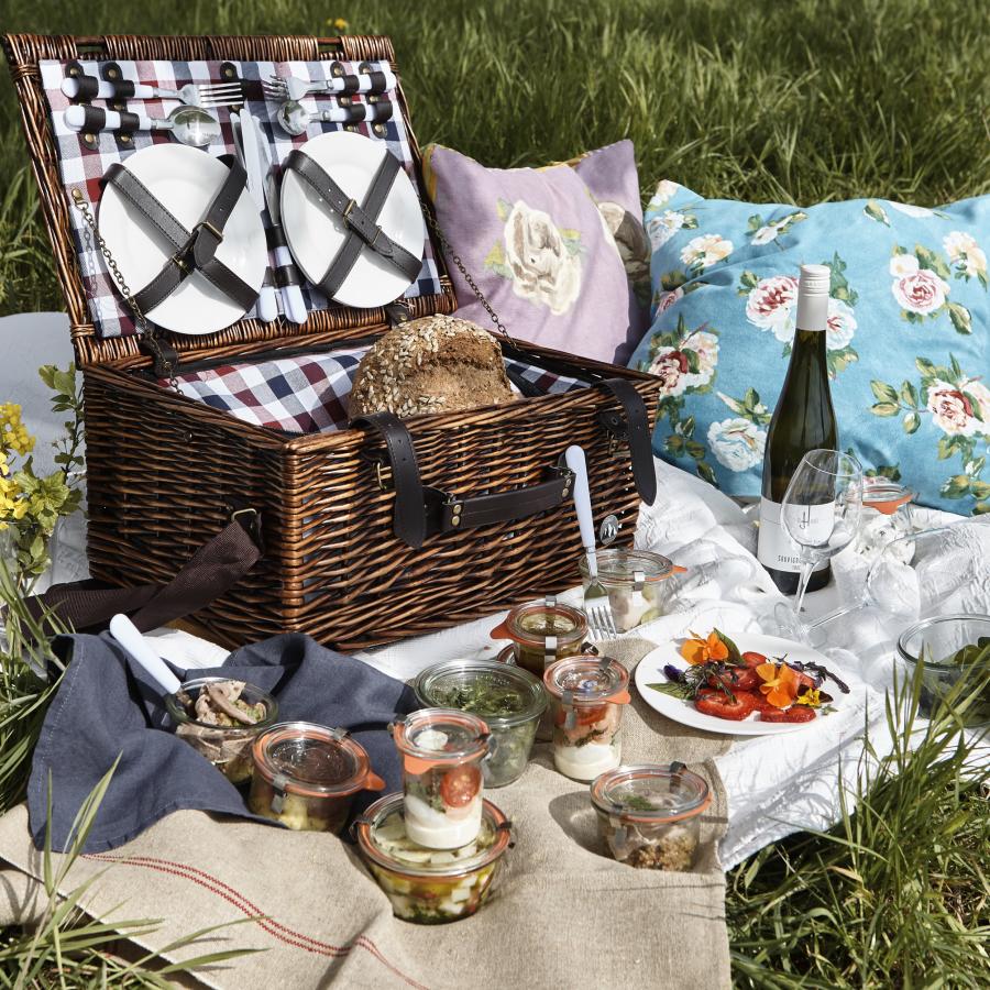 Lautrer Picknickkorb für 2 Personen