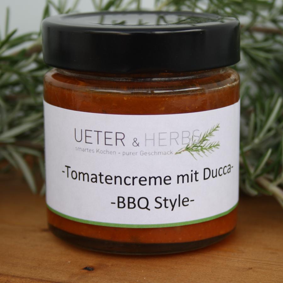 Tomatecreme mit Ducca BBQ-Style 190g